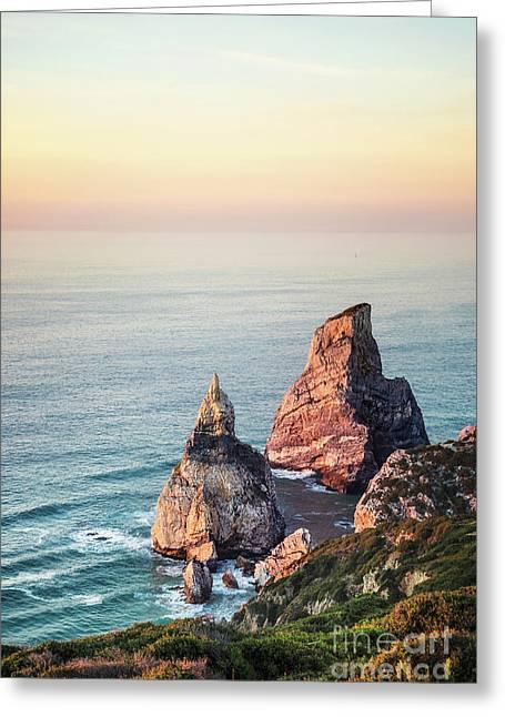 Land Of Eternal Sunset Greeting Card