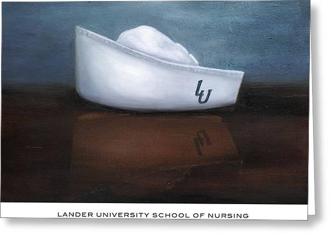 Lander University School Of Nursing Greeting Card