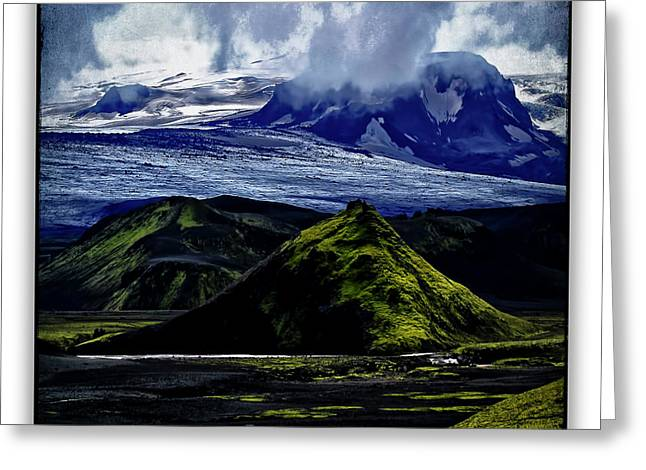 Landmannalaugar Greeting Card by Ingrid Smith-Johnsen