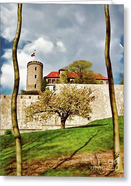 Landmark Sparrenburg Castle Greeting Card