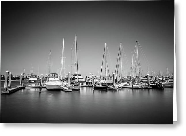 Lands End Marina  Greeting Card