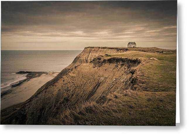 Greeting Card featuring the photograph Land's End by Odd Jeppesen