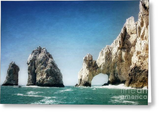 Greeting Card featuring the photograph Lands End by Scott Kemper