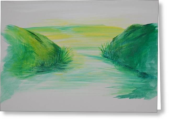 Landscape 1 Greeting Card by Amy Stewart Hale