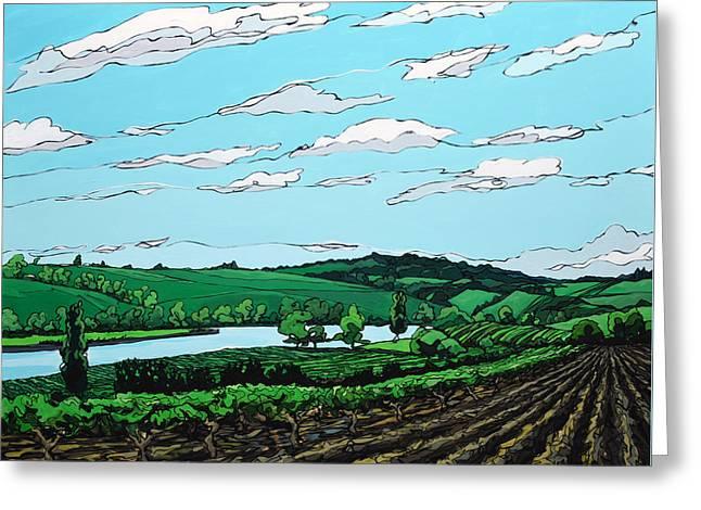 Landscape 108 Greeting Card