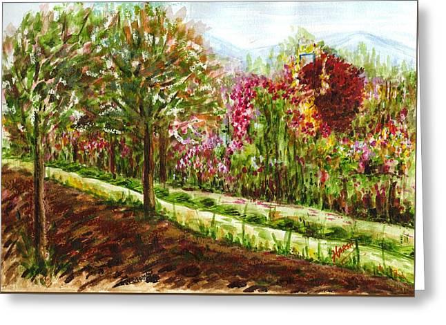 Landscape 2 Greeting Card by Harsh Malik