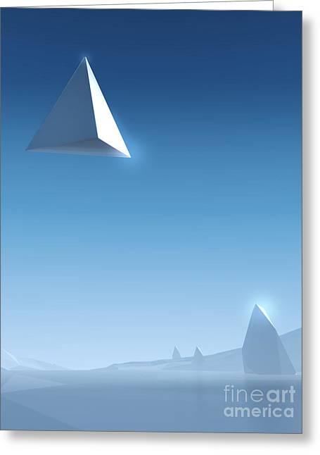 Landscape #2 Greeting Card by Pixel Chimp