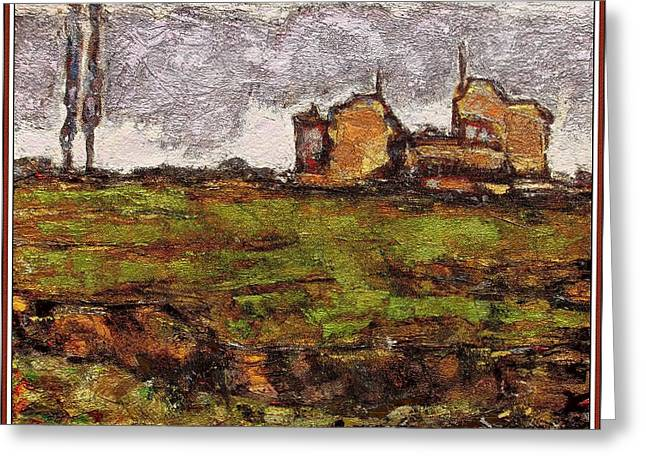 Landscape 21 Greeting Card by Pemaro