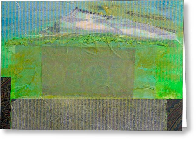 Landscape Abstraction Greeting Card