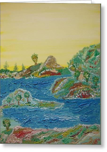 Landscape. Fantasy 28. Greeting Card