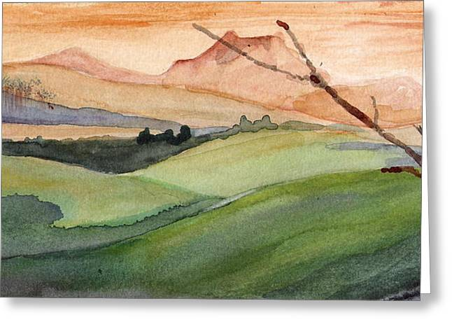 Landscape I Greeting Card