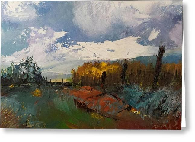 Landscape Impression Greeting Card