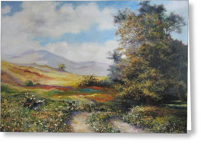 Landscape In Dilijan Greeting Card