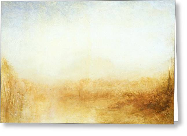 Landscape Greeting Card by Joseph Mallord William Turner