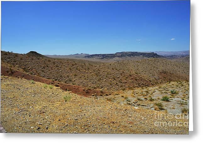 Landscape Of Arizona Greeting Card by RicardMN Photography
