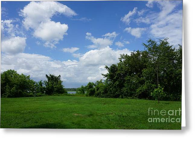 Landscape Photo Greeting Card