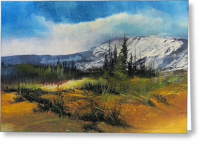 Landscape Greeting Card by Robert Carver