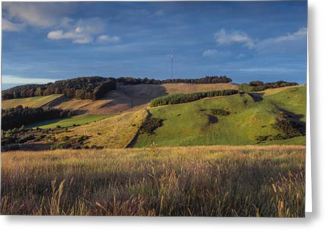 Landscape, Scottish Borders, Scotland Greeting Card by Panoramic Images