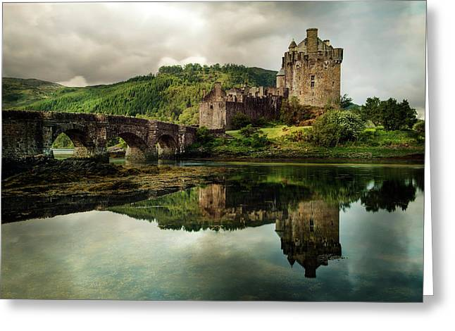 Landscape With An Old Castle Greeting Card