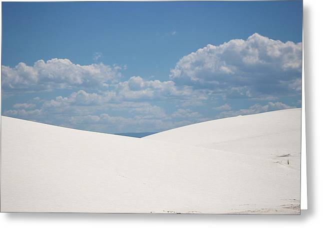 Landscapes Of White Sands 11 Greeting Card