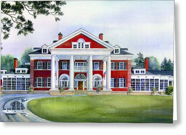 Langdon Hall Greeting Card by Hanne Lore Koehler