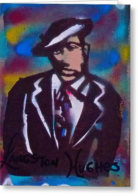 Langston Blues Greeting Card