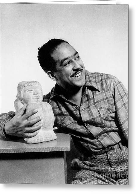 Langston Hughes (1902-1967) Greeting Card