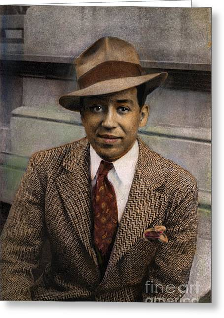 Langston Hughes Greeting Card by Granger