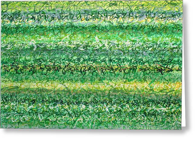 Language Of Grass Greeting Card by Jason Messinger