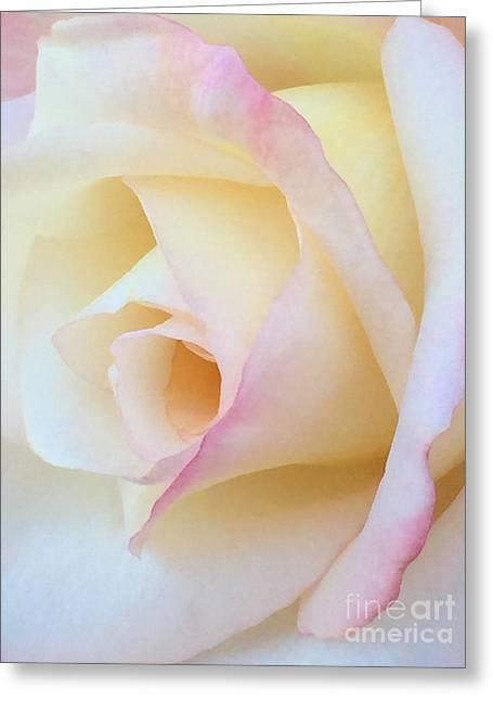 Language Of Love Greeting Card by Krissy Katsimbras