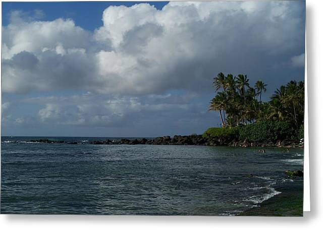 Laniakea Beach Greeting Cards - Laniakea Beach Greeting Card by Grant Wiscour