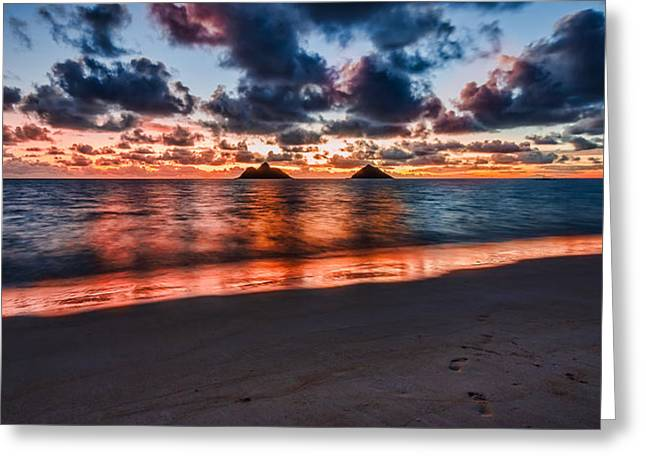 Lanikai Beach Greeting Card