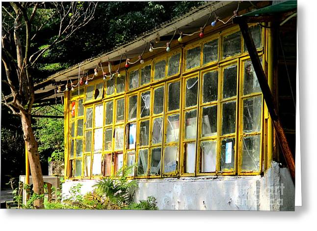Greeting Card featuring the photograph Lantau Island 46 by Randall Weidner