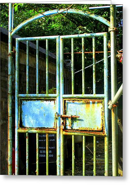Greeting Card featuring the photograph Lantau Island 48 by Randall Weidner