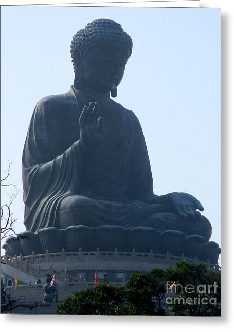 Greeting Card featuring the photograph Lantau Island 49 by Randall Weidner