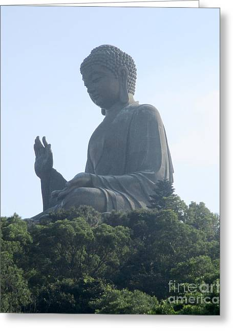 Greeting Card featuring the photograph Lantau Island 50 by Randall Weidner