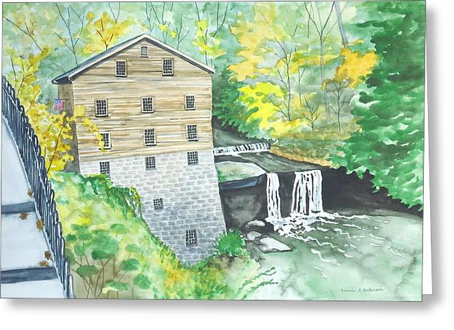 Lanterman's Mill - Mill Creek Park Greeting Card