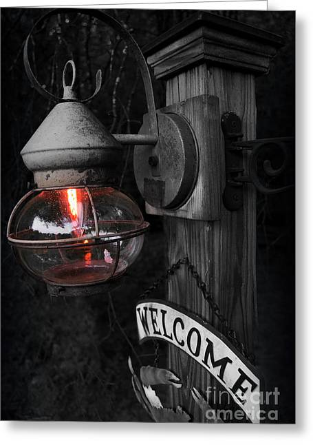 Greeting Card featuring the photograph Lantern by Brian Jones