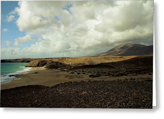 Lanzarote Greeting Card by Cambion Art