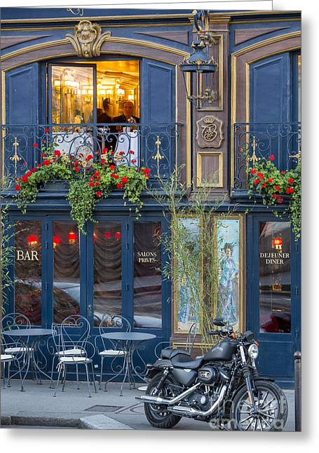 Laperouse - Paris Greeting Card by Brian Jannsen