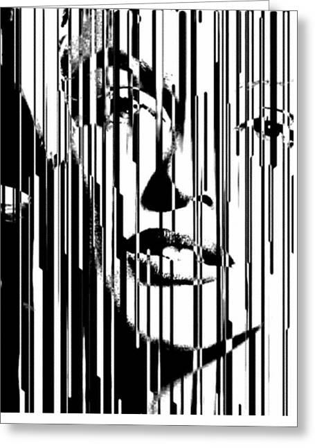 Large Marilyn Silkcreen 2017 Robert Erod Greeting Card