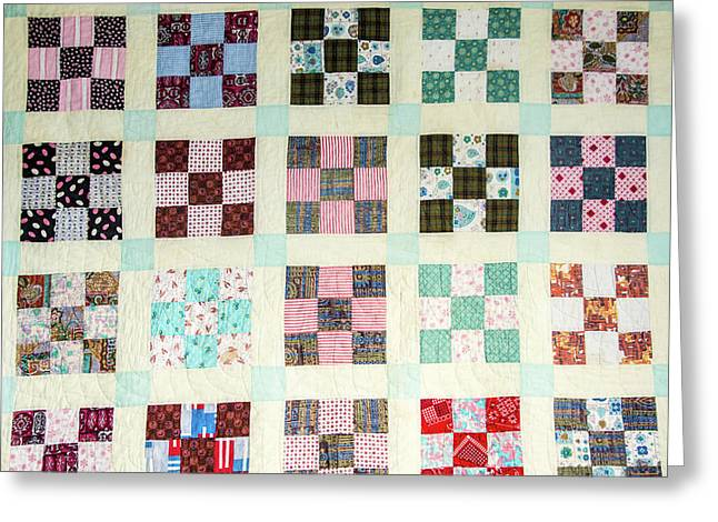 Large Quilt Greeting Card