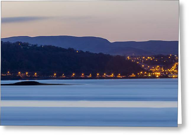 Larne From Magheramorne Greeting Card