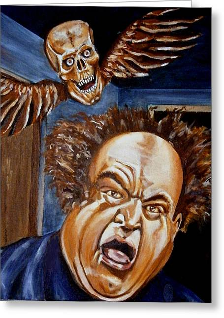 Larry Fine Greeting Card