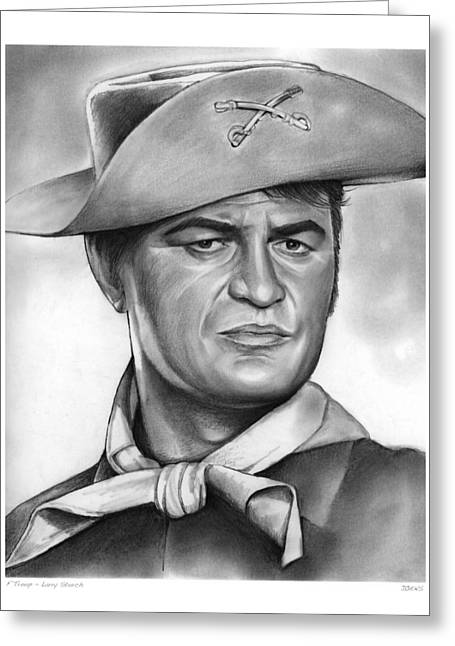 Larry Storch Greeting Card by Greg Joens