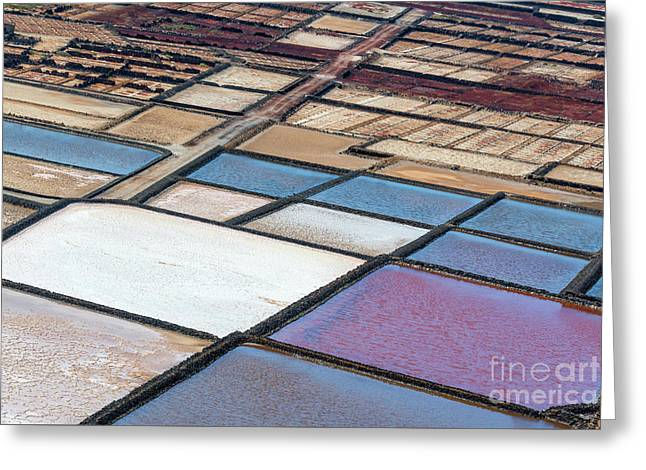 Las Salinas Greeting Card by Delphimages Photo Creations