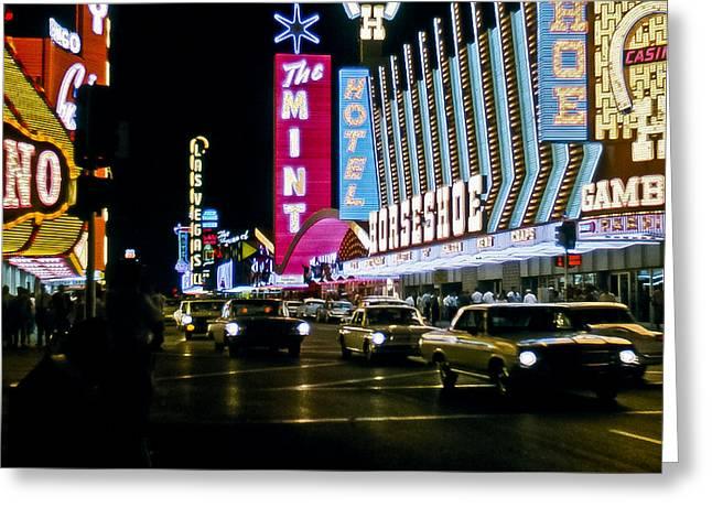 Las Vegas 1964  II Greeting Card