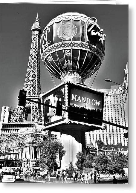 Las Vegas Greeting Card by Alicia Morales