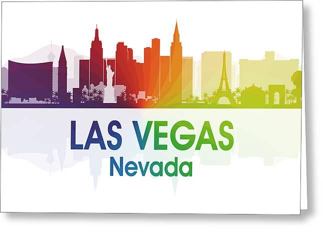 Las Vegas Nv  Greeting Card
