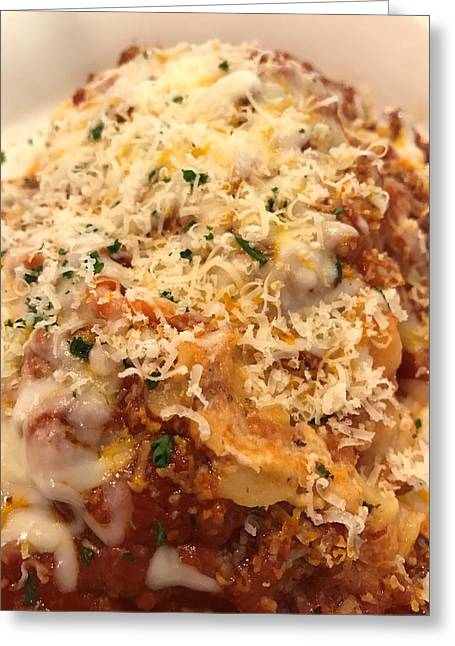 Lasagna Greeting Card